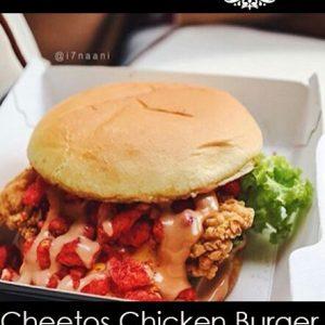 Cheetos Chicken burger
